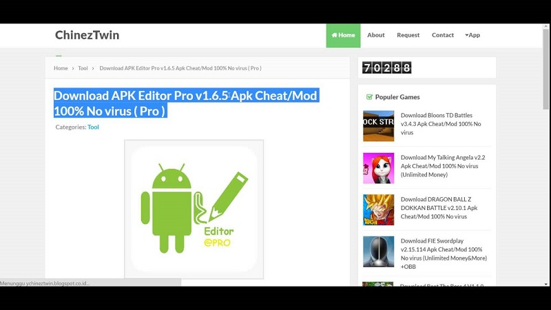 Download APK Editor Pro Tools APP For Android – Apk Games Hack