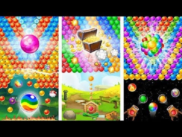 bubble shooter classic level 23