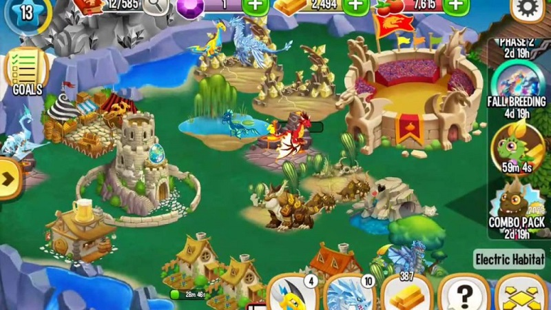 Dragon City mod Apk 2017