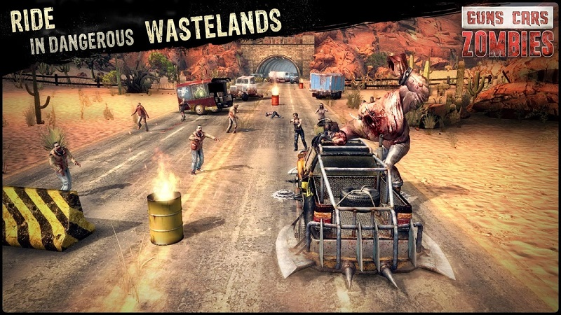 guns cars zombies mod apk