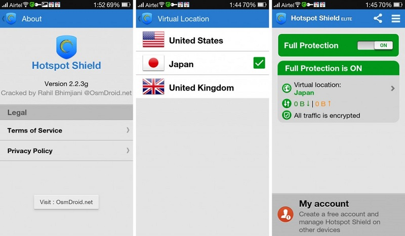 hotspot shield free vpn proxy app