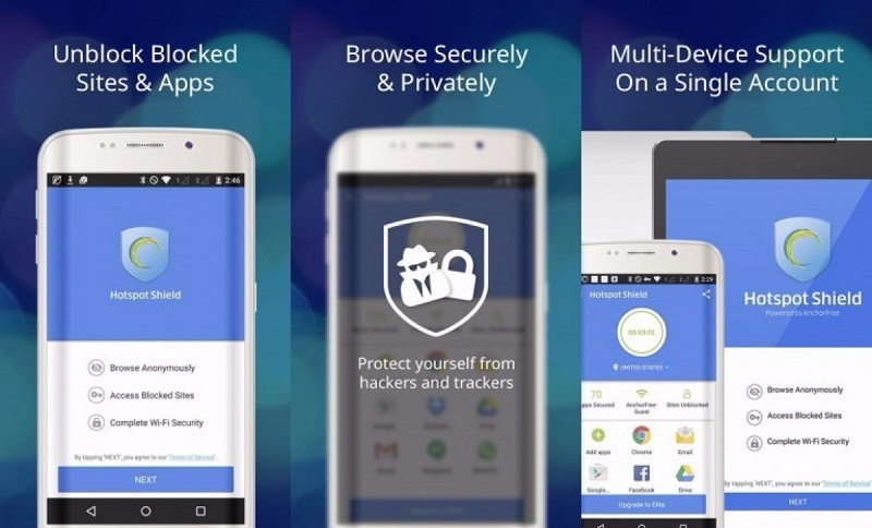 hotspot shield free vpn proxy review