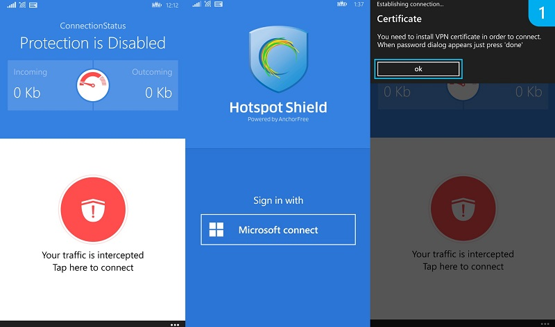 Download Hotspot Shield Free VPN Proxy for Android – Apk