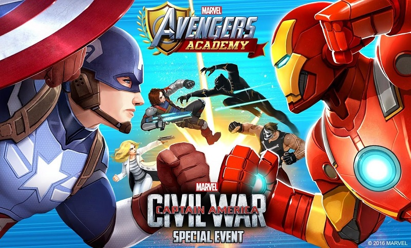 marvel avengers academy game