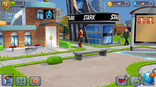 marvel avengers academy mobile game