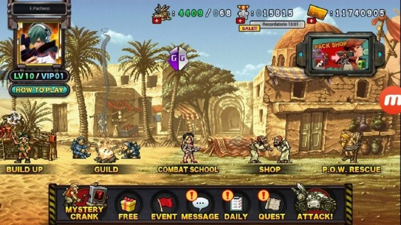 metal slug attack cheat engine