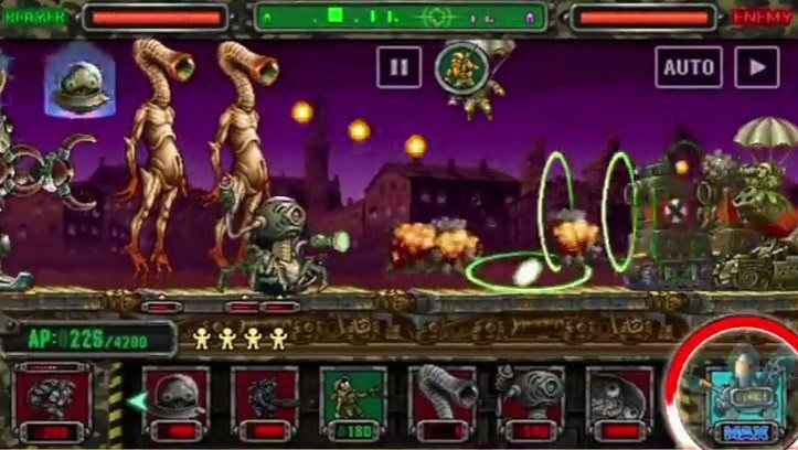 metal slug zombie attack