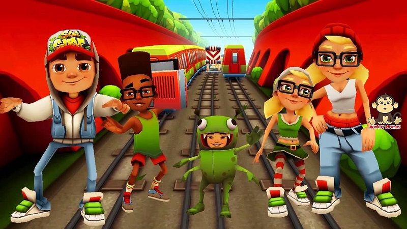 subway surfers apk hacked
