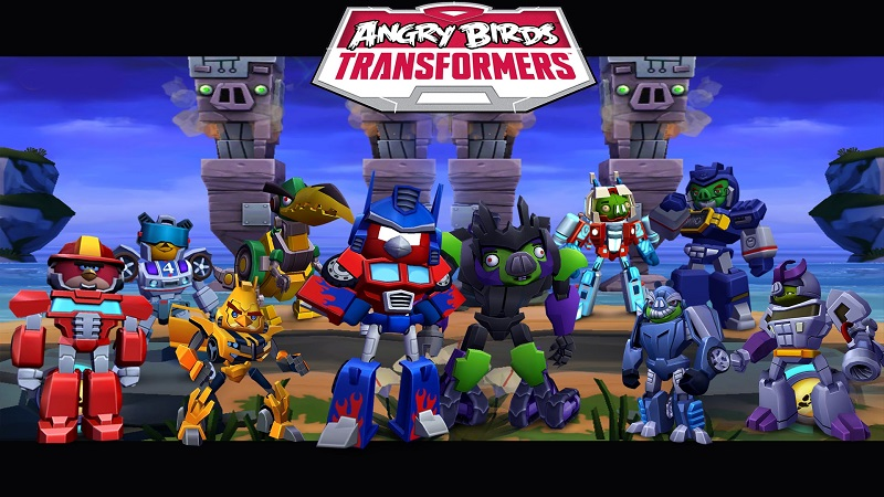 angry birds transformers codes