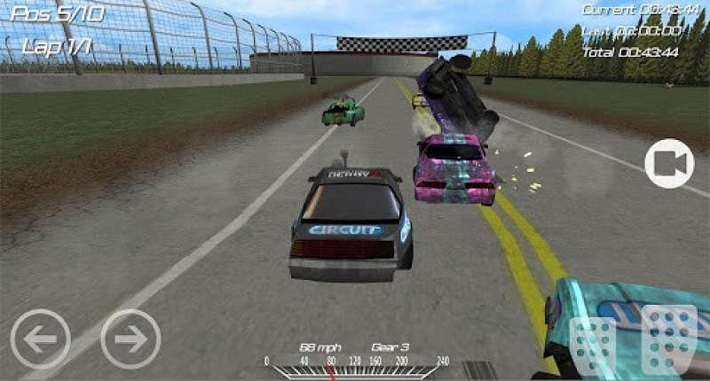 demolition derby 2 mod apk android