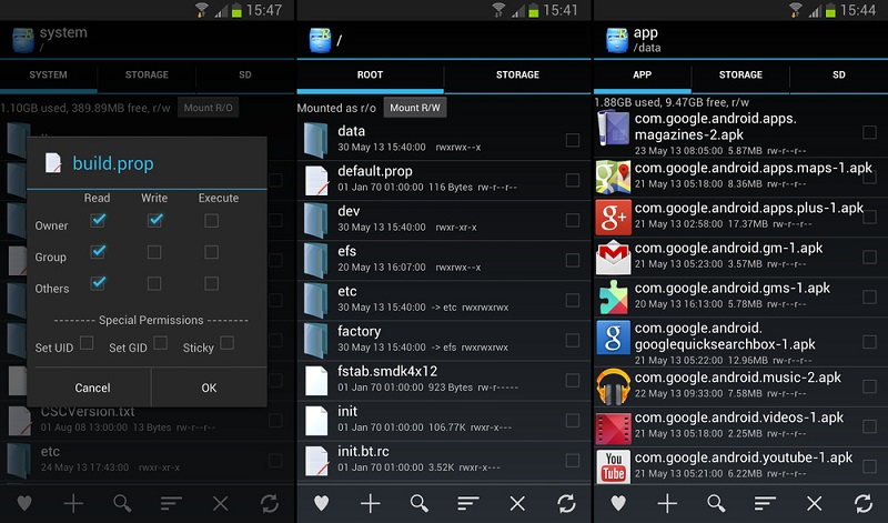 root explorer apk here