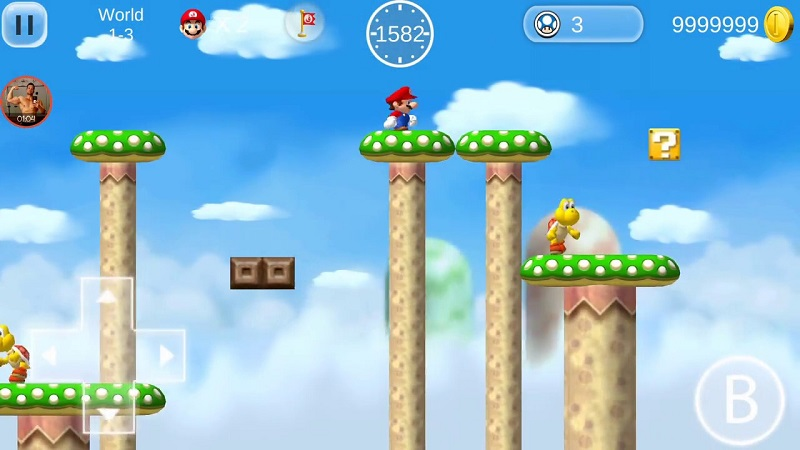 Download Super Mario 2 HD, Unlimited Coins for android – Apk