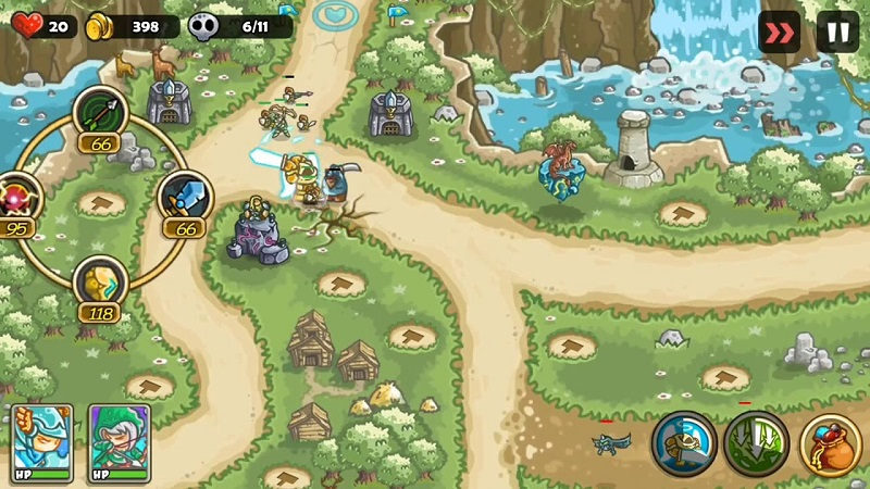 fantasy kingdom defense apk unlimited gems