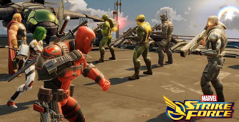 marvel strike force apk data