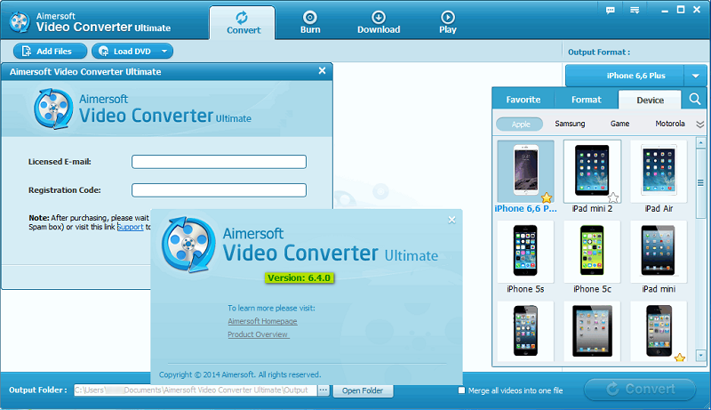 aiseesoft video converter ultimate serial number