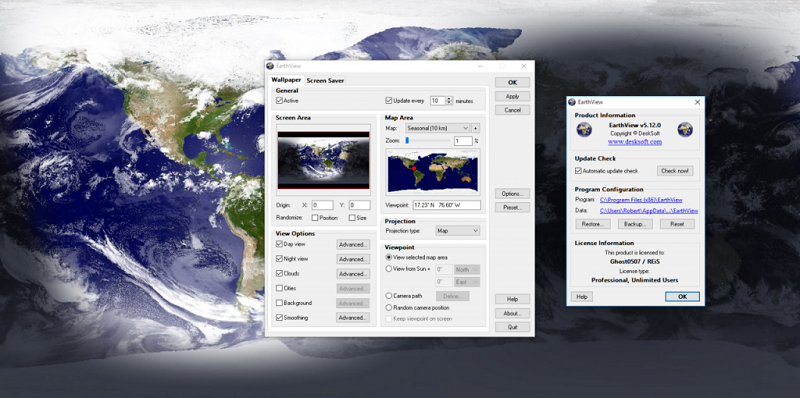 desksoft earthview download