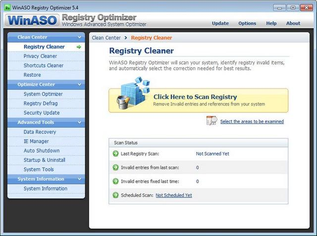 winaso registry optimizer portable