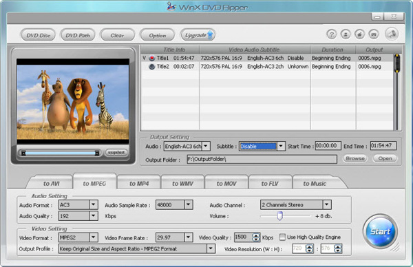 winx dvd ripper platinum free key