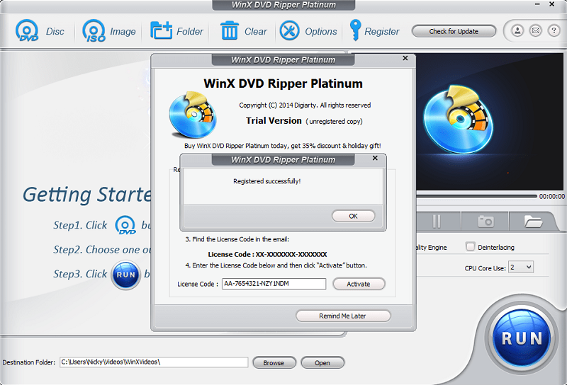 winx dvd ripper platinum key